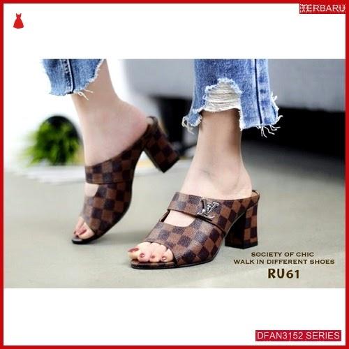 DFAN3152S116 Sepatu Jm 03 Hak Wanita Tahu Sol BMGShop