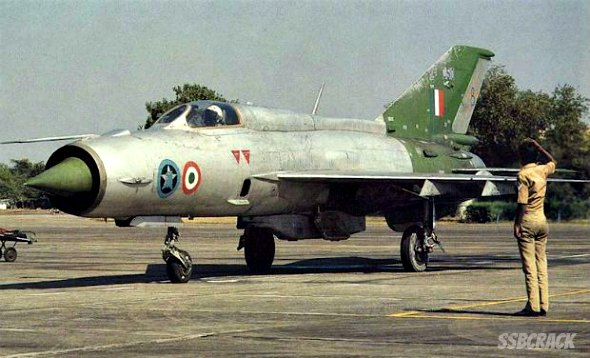 A Warrior Bows Out MiG-21 FL