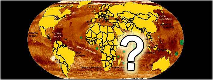 a divisão das terras de marte entre os paises - como será?