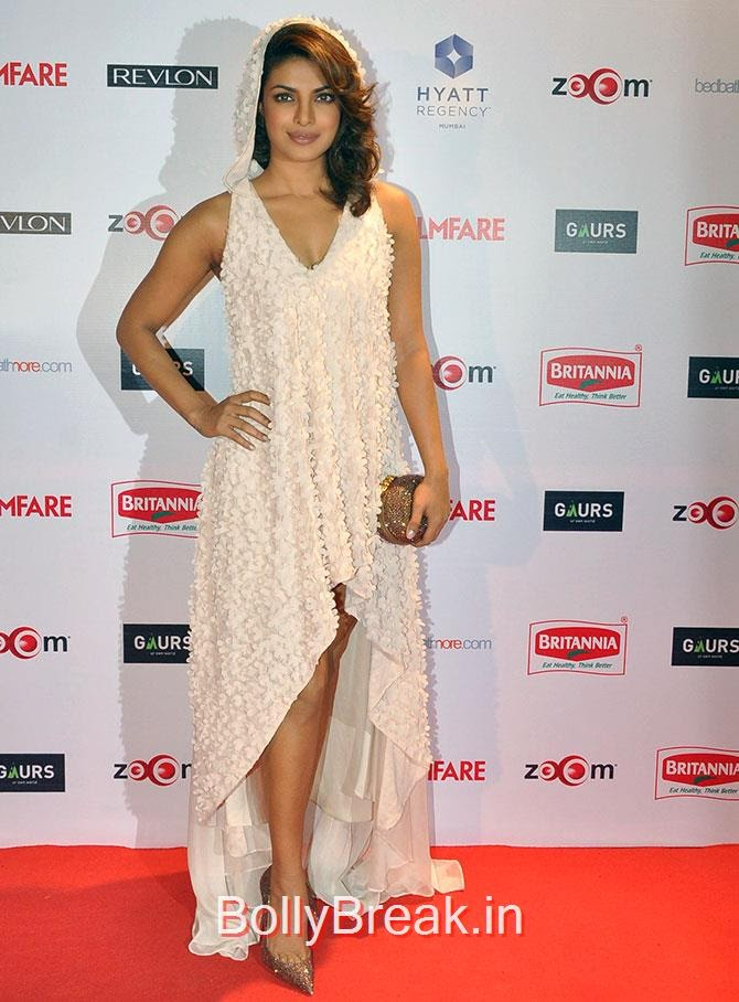 Priyanka Chopra, Filmfare Awards 2015 Red Carpet Pics for Nominations Pre Party