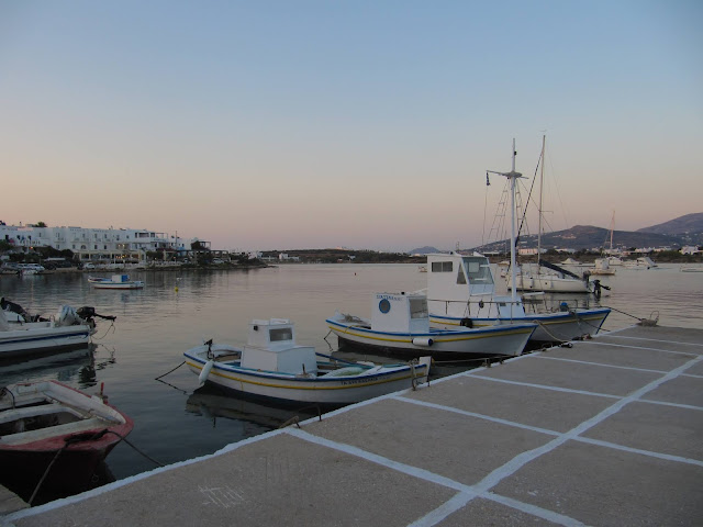 Fisherman's Runabout in Greek Harbour