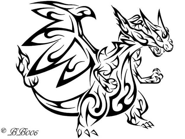 Pokemon Coloring Pages Mega Charizard