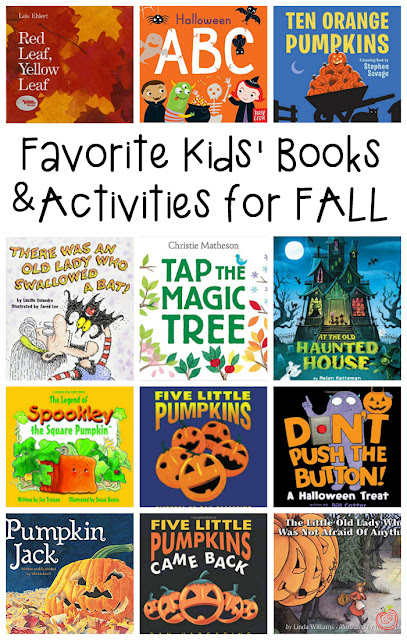 12 of the best Kids' Books and Activities for Fall