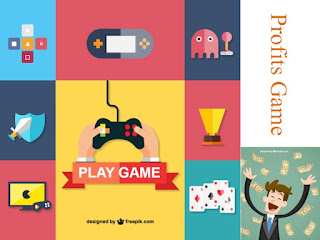 Picture Depicts Playing Games and Profits