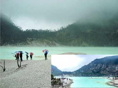 Pesona Wisata Kawah Putih Bandung Selatan