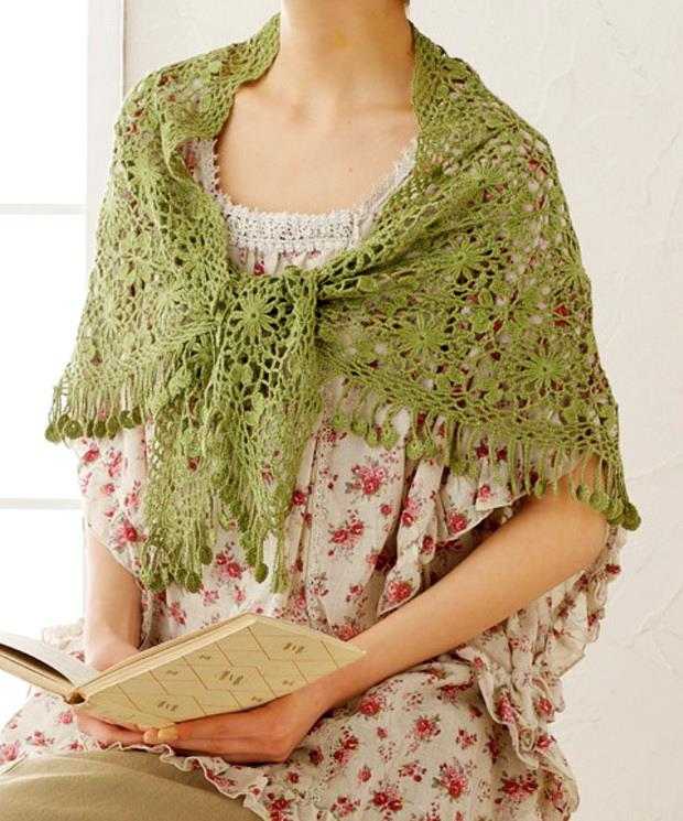 Crochet Shawls Free Crochet Pattern Of Amazing Lace Shawl