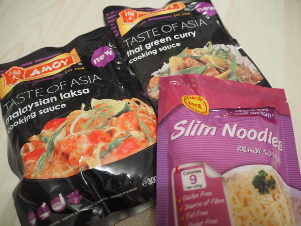 amoy taste of asia cooking sauce slim pasta