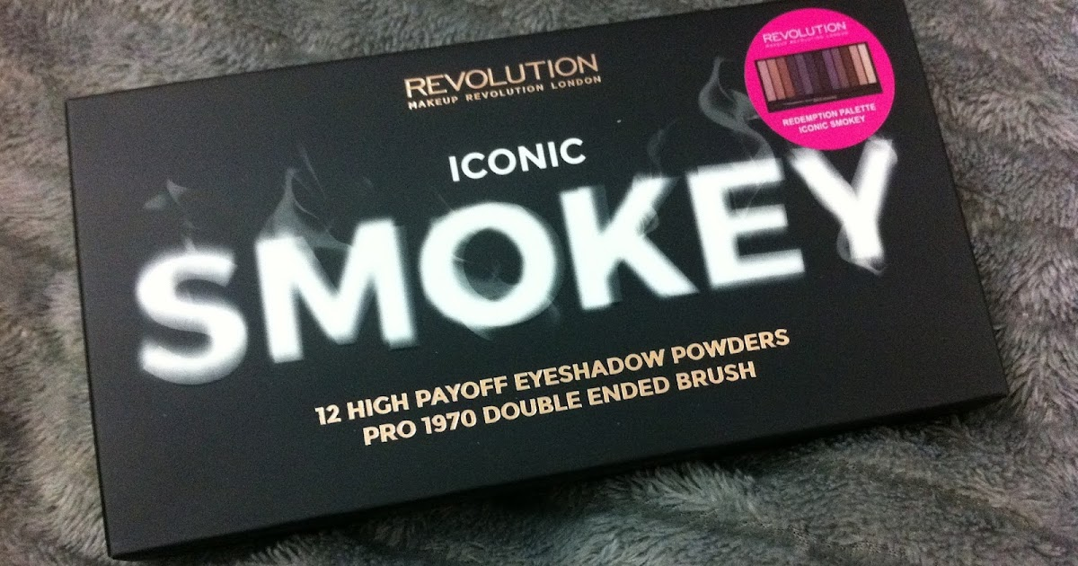 Makeup revolution SMOKEY palette