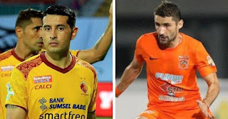 Persib Bandung Perkenalkan Esteban Vizcarra dan Srdan Lopicic sebagai Pemain Baru