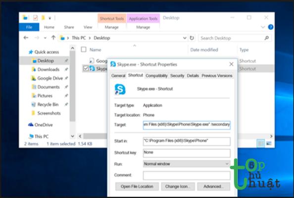 Hướng dẫn cách mở 2 tài khoản Skype trên cùng một máy tính