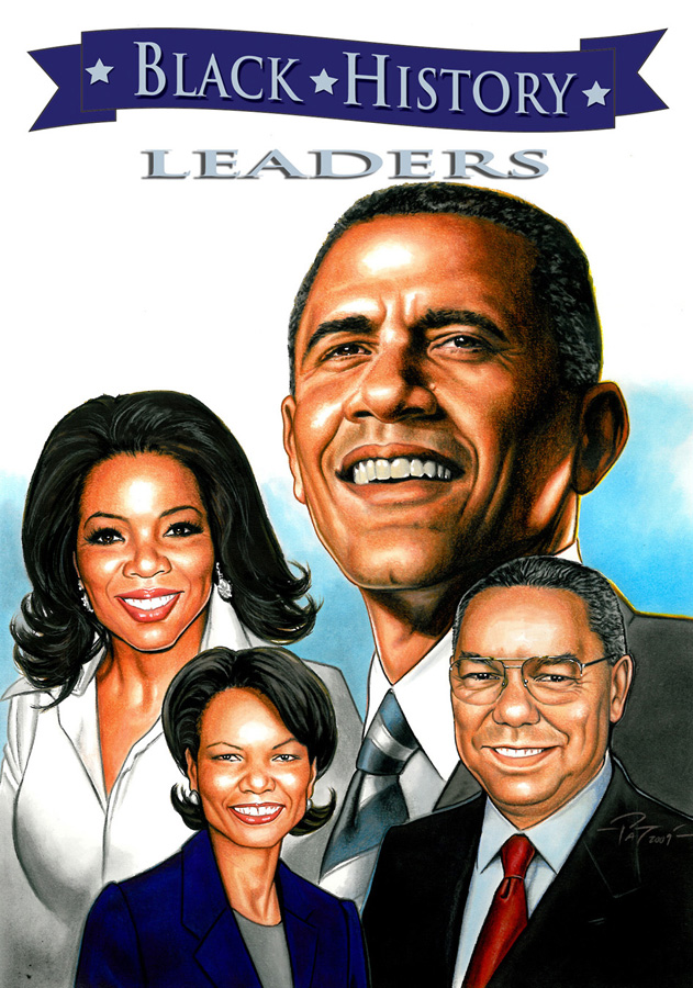 Black History In America On Pinterest: GhettoManga: In Stores Now- BLACK HISTORY LEADERS Trade