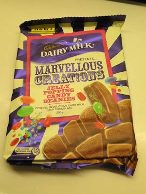 Herbert的飲食玩體驗: 吉百利牛奶朱古力 - Marvellous Creations