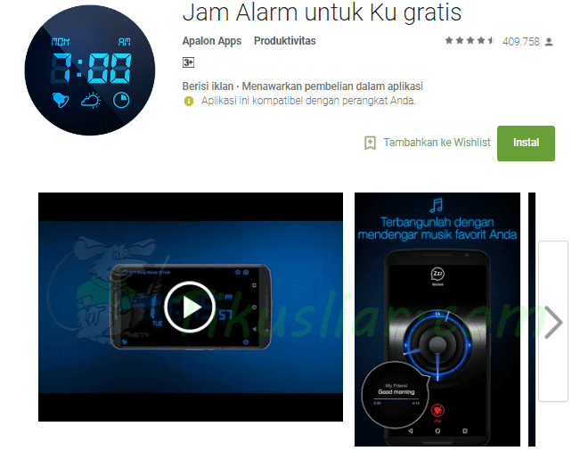 Download 5 Aplikasi Alarm Jam Terbaik Di HP Android