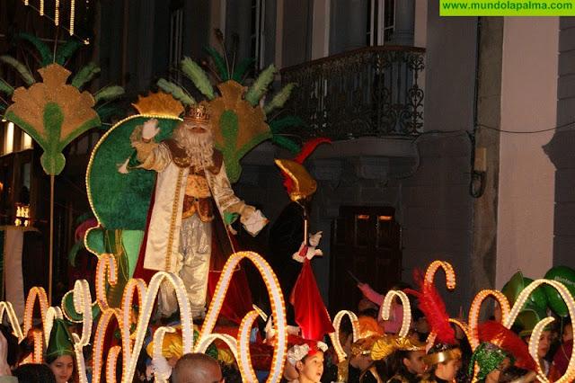 Santa Cruz de La Palma ya tiene todo preparado para la llegada de Sus Majestades los Reyes Magos