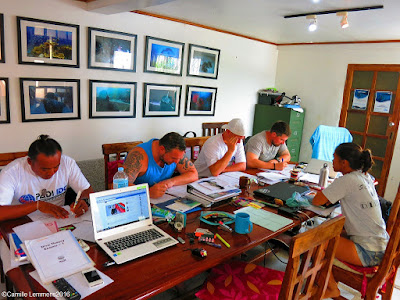 PADI IDC for July 2016 in Moalboal, Philippines has started