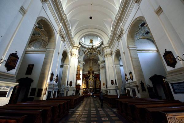 Basílica de San Pedro y San Pablo (Cracovia, Polonia)