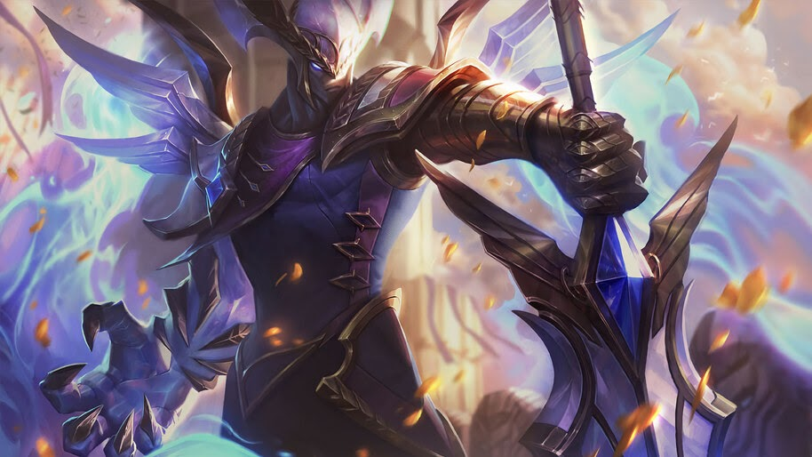 Victorious, Aatrox, Splash Art, LoL, 4K, #5.1428