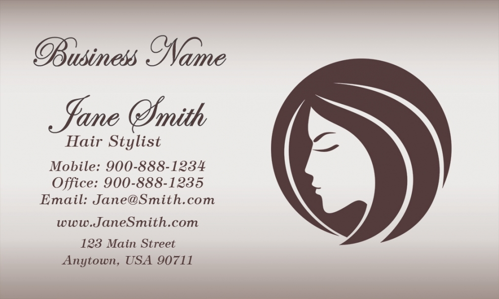 Salon business cards business card tips salon business cards flashek Images