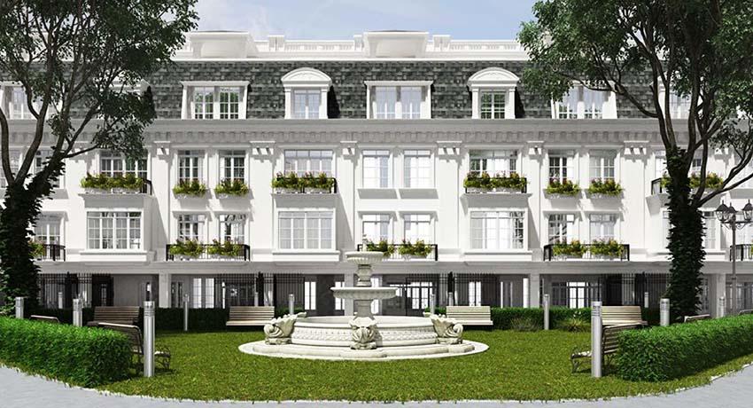 Dự án biệt thự liền kề Porte De Ville 58 Trúc Khuê