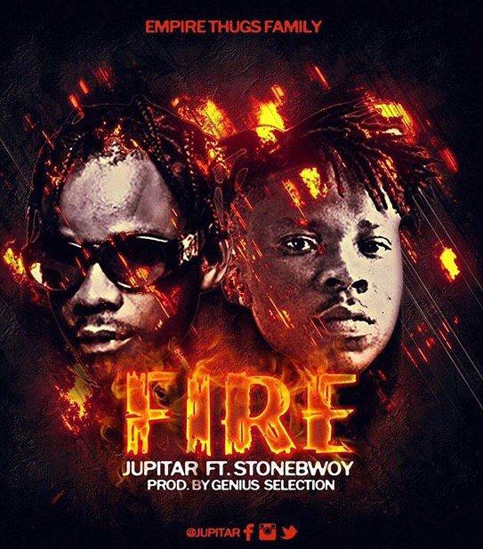 Jupitar – Fire (Lyrics) ft. Stonebwoy