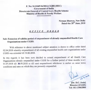 extension-of-validity-period-empanelment-under-cghs