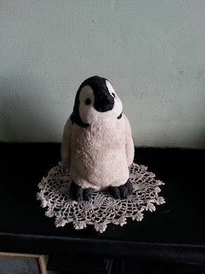 The Christmas Penguin Chick