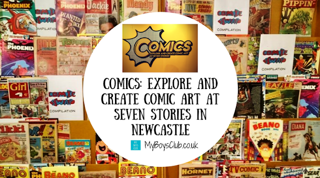 Comics: Explore and Create Comic Art at Seven Stories in Newcastle