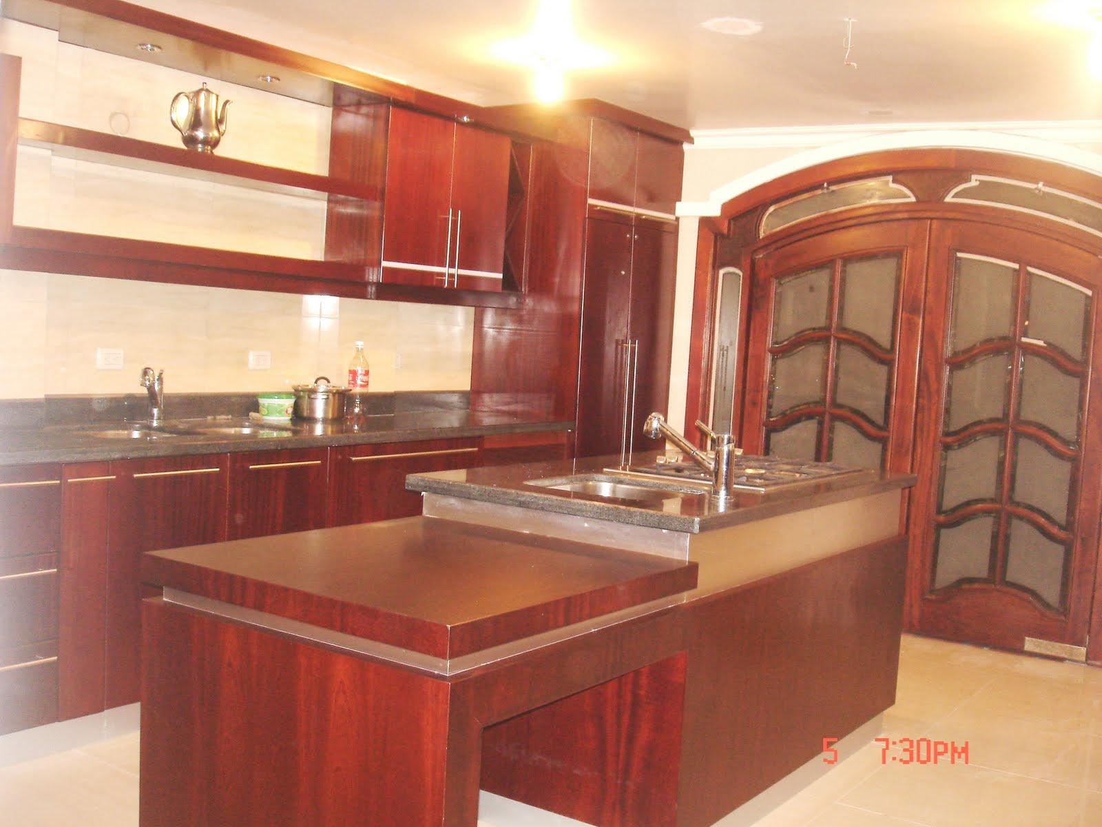 Ideatumobiliario muebles de cocina for Modelos de muebles de madera