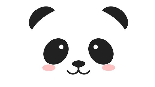 Hình nền Chú gấu trúc dễ thương đáng yêu với đôi má hồng