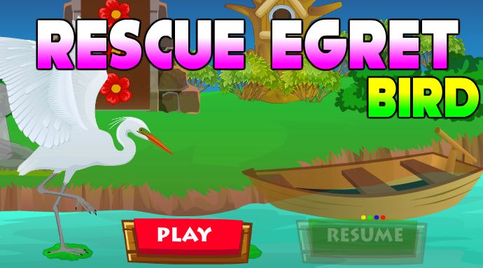 AVM Rescue Egret Bird Game