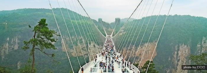 Amazingexplore  Zhangjiajie Glass Bridge The World's Longest and Highest Glass Bridge in Hunan China