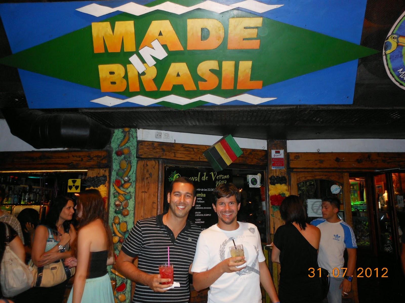 Made In Brazil - Palma de Maiorca - Praia - Espanha - Música brasileira - Axé, pagode, samba, sertanejo, carnaval