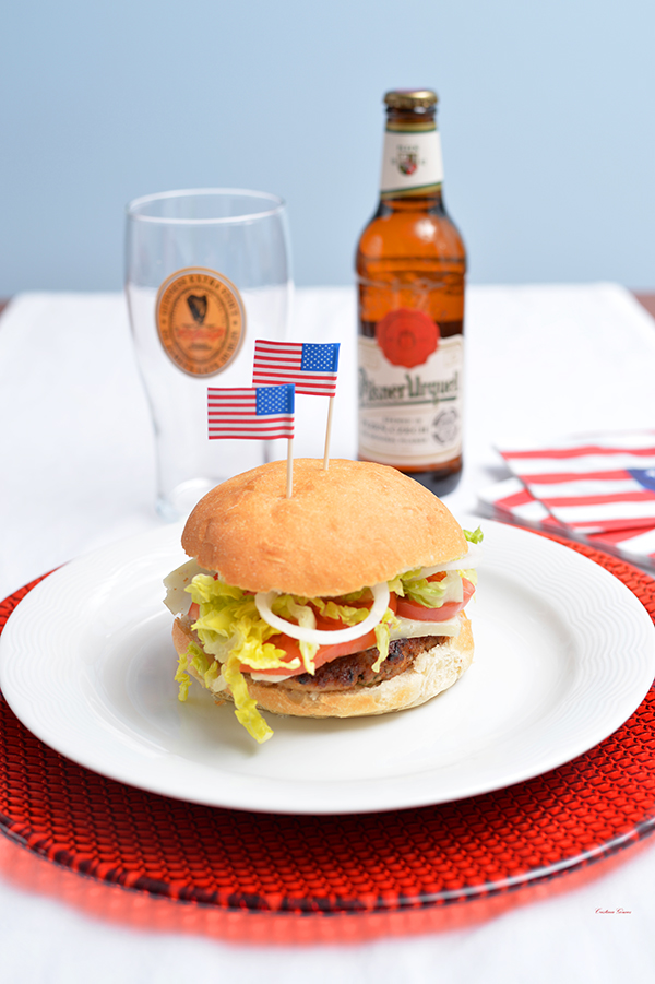 hamburger fourth of july