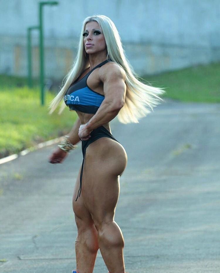 Anne Luise Freitas Brazilian bodybuilder - Strong Girl Abs