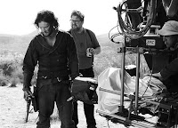 Martin Koolhoven and Kit Harington on the set of Brimstone (17)