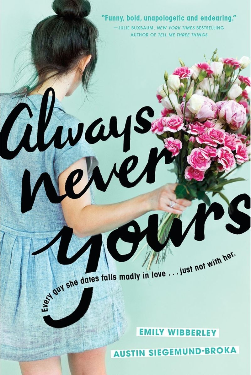 25 Books to Read - Summer 2018 - Always Never Yours by Emily Wibberley