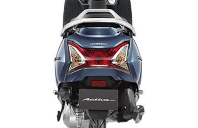 Honda Activa 4G rear angle image