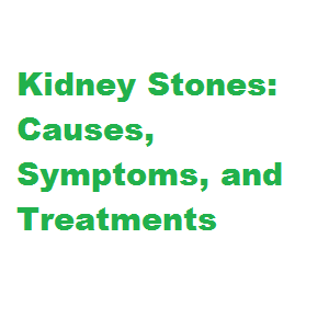 Different people at peculiar stages inwards life experience kidney stones together with facial expression  Kidney Stones: Causes, Symptoms, together with Treatments