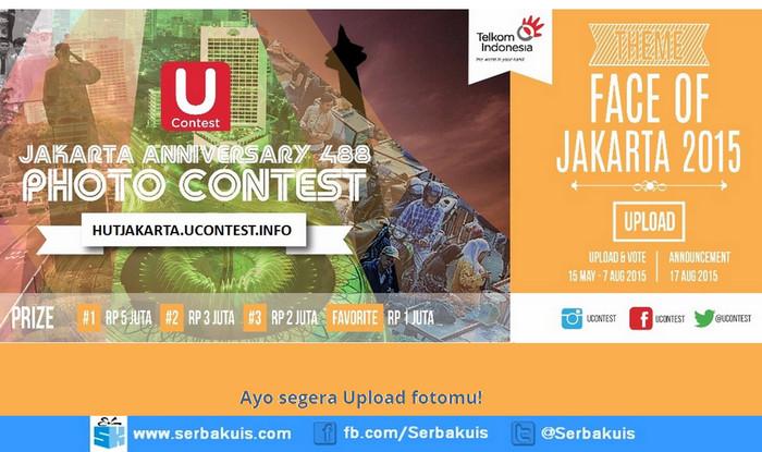 Kontes Foto Face Of Jakarta 2015 Berhadiah Uang Total 11 Juta
