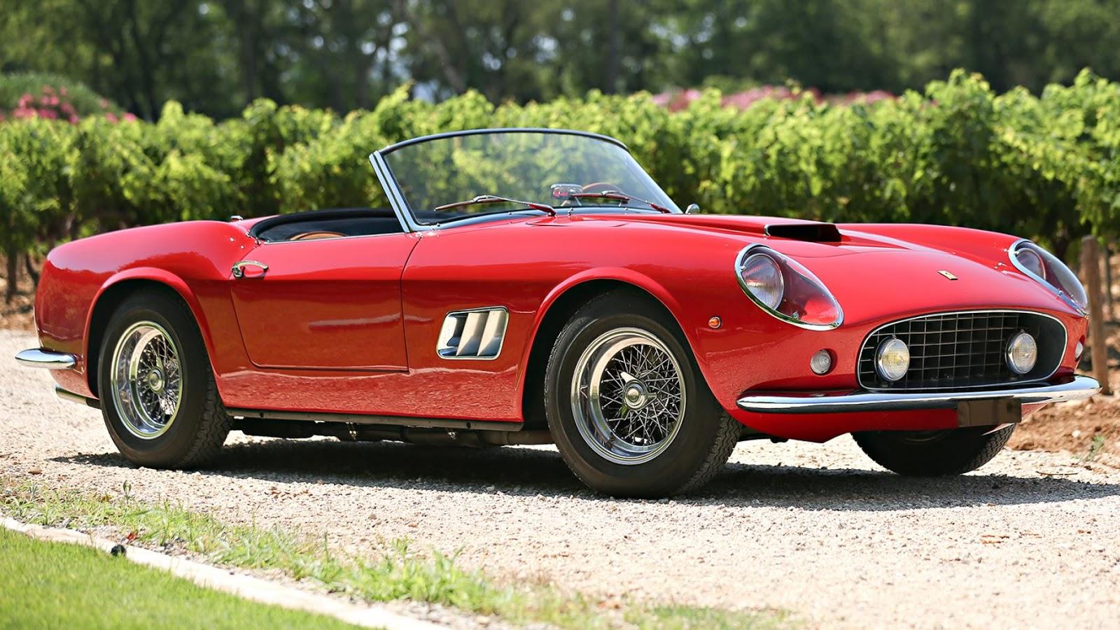 $16,830,000 – 1961 Ferrari 250 GT SWB California Spider