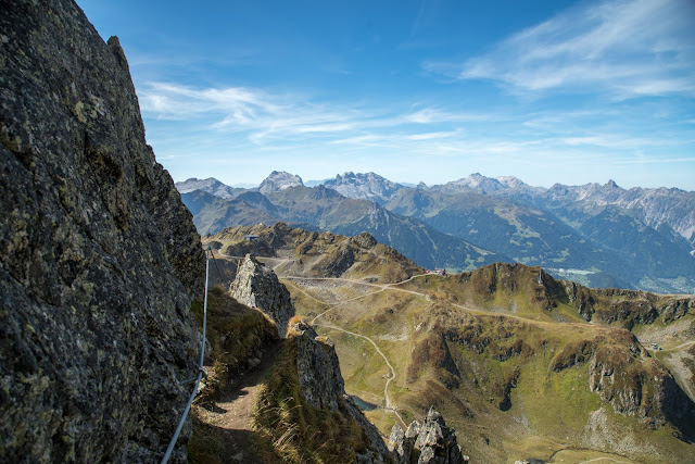 Seetalwanderung und Klettersteig Hochjoch  Silvretta Montafon 16