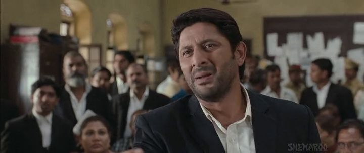 Screen Shot Of Hindi Movie Jolly LLB 2013 300MB Short Size Download And Watch Online Free at worldfree4u.com
