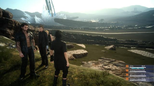 Final Fantasy solamente tiene mundo abierto la primera mitad del juego