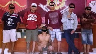 Penikaman Beraksi di Tondano, Polres Minahasa Amankan Warga Kiniar