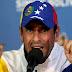 Capriles: Retiro de la OEA sería violatorio de la Constitución