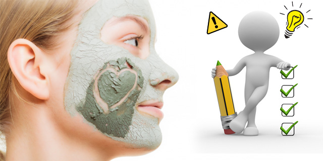 kil maskesi püf noktaları, kil maskesi uyarılar, www.kahvekafe.net