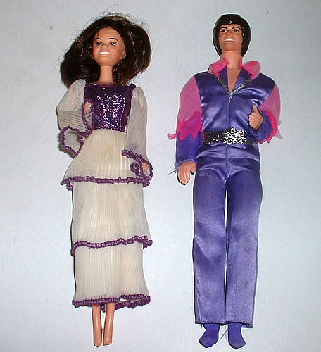 Donny and Marie Osmond Barbie Dolls