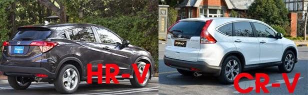 Harga Mobil Honda HR-V dan CR-V