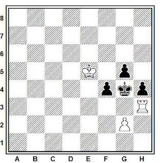 Problema ejercicio de ajedrez número 851: Rodríguez - Morales (Las Palmas, 1989)