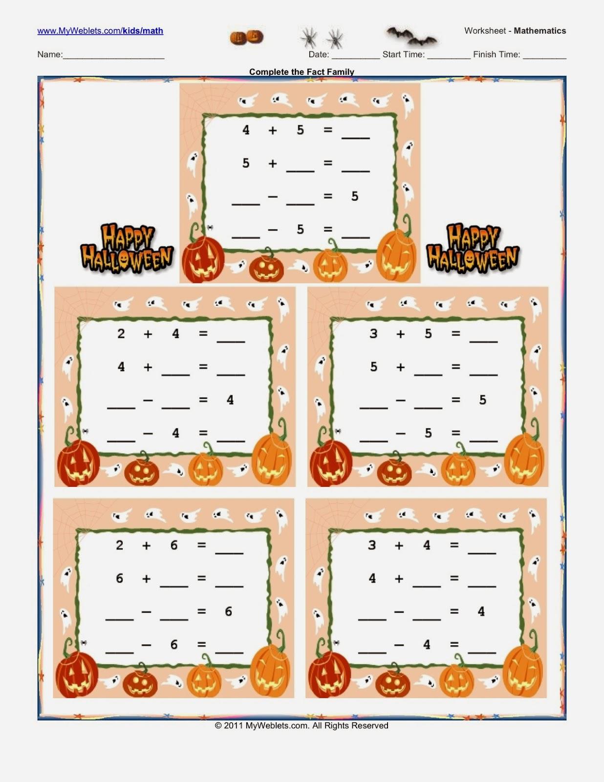 Mathmarsha Blog Preparing For A Halloween Math Parent